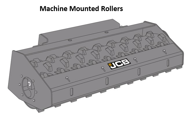 Machine Mounted Rollers