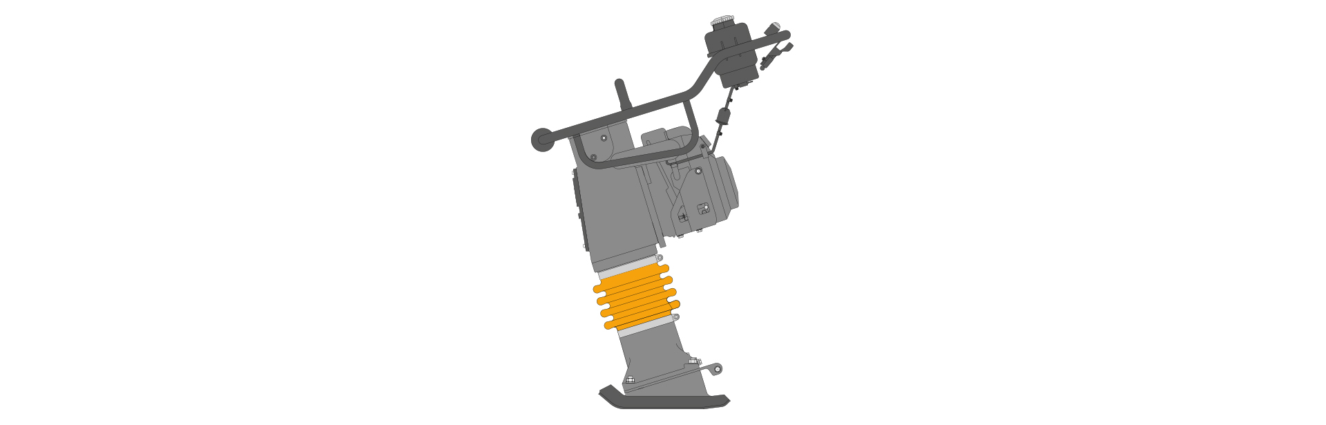 Image of a Vibratory Rammer
