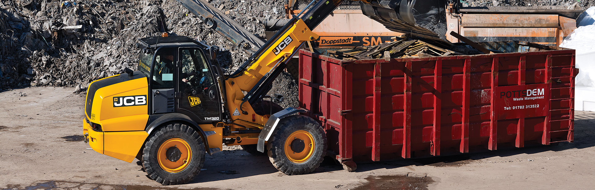 Image of a TM320 WASTEMASTER