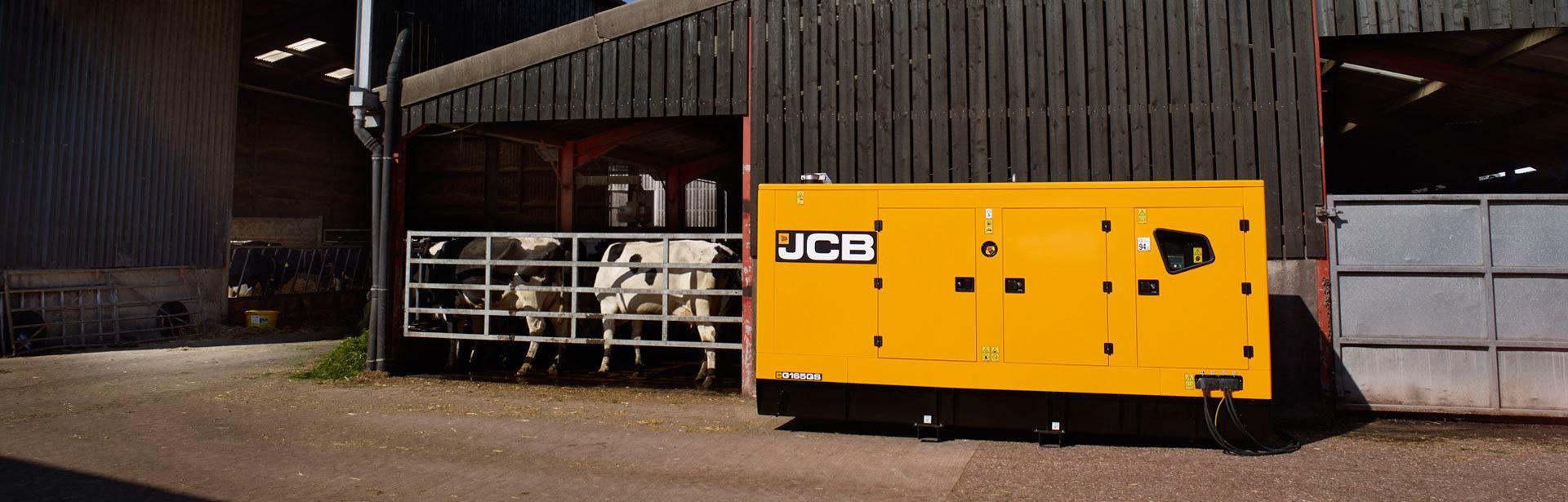 Image of a 165-220 kVA JCB Dieselmax 6CYL