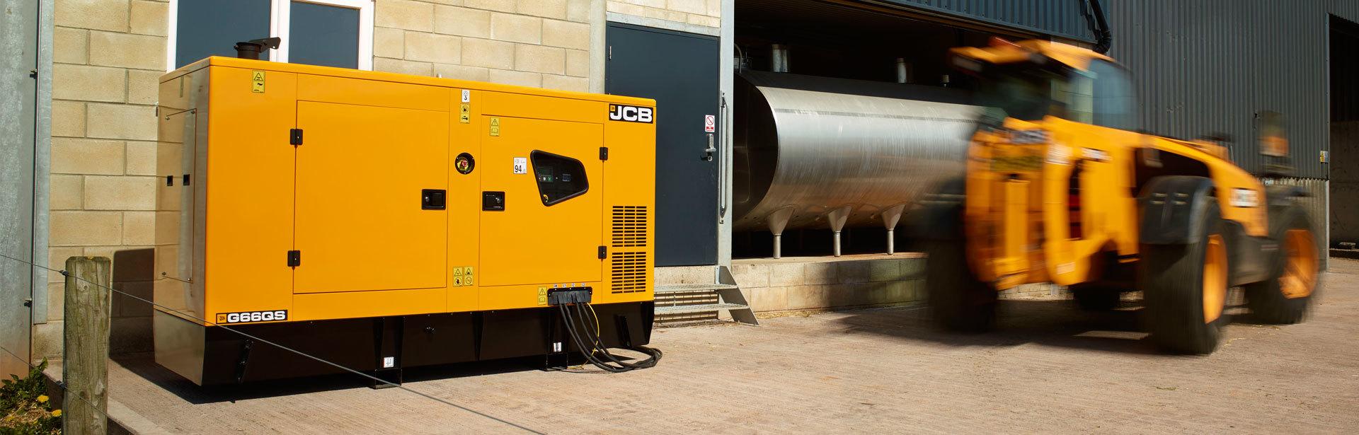 Image of a 65-140 kVA JCB Dieselmax 4CYL