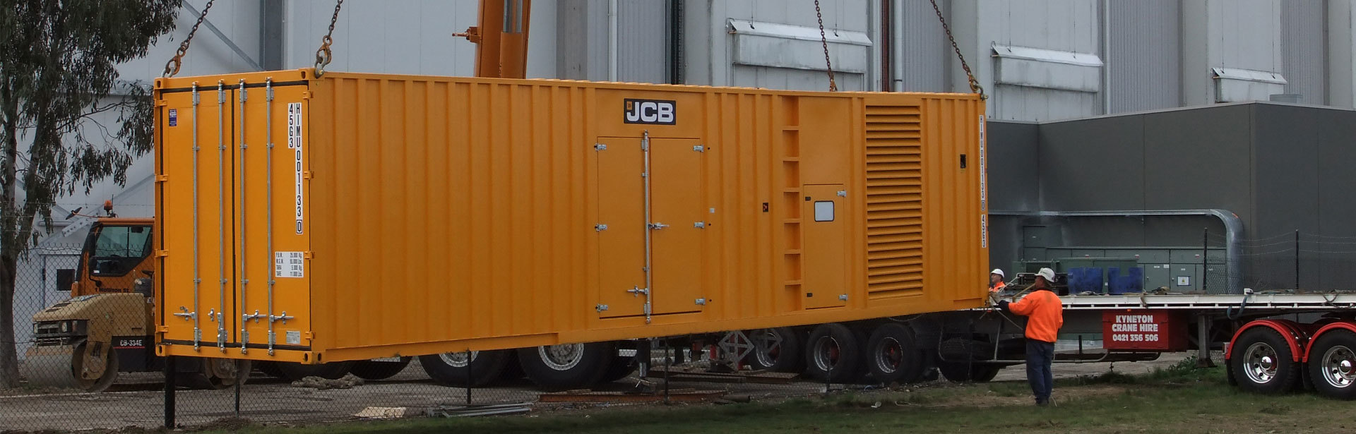Image of a 800-2500 kVA Perkins