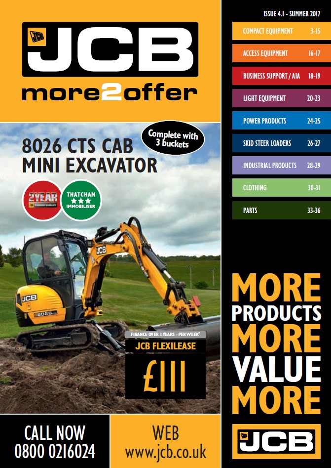 Cover Image of 0818 - JCB Marketing - more2offer Catalogue Issue 4.1 Low Res
