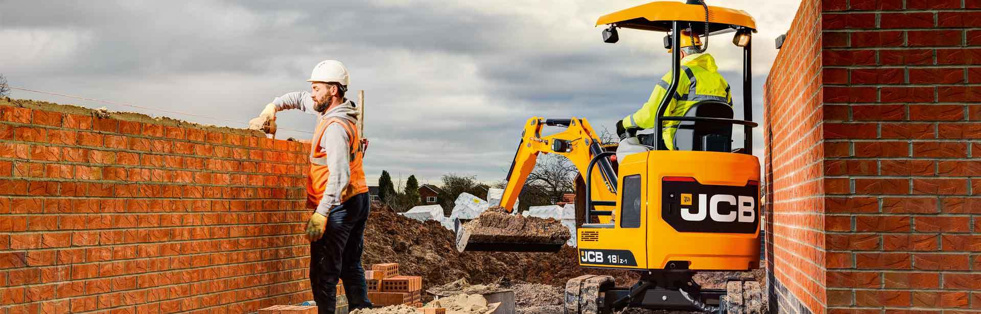 Image of a New Mini Excavator 1-2 Tonne Range