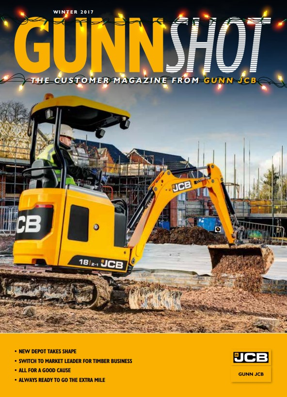 Cover Image of 1005 - JCB Marketing - GUNNSHOT Magazine Q4 2017 Interactive