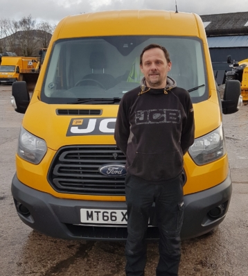 Portrait of Lee Green – Ruthin Mobile number: 07734 045699 Email address: lee.green@gunn-jcb.co.uk Areas covered: North Wales, Deeside and Wirral .