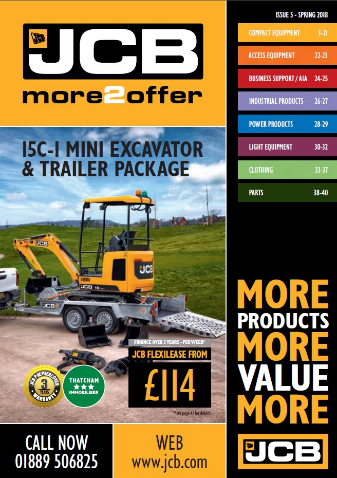 Cover Image of 1062 - JCB Marketing - more2offer Catalogue Issue 5