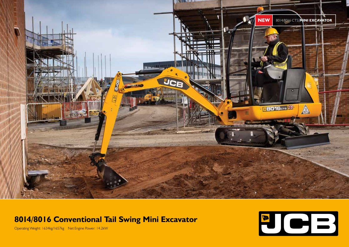 Cover Image of 8014-8016-conventional-tail-swing-mini-excavator