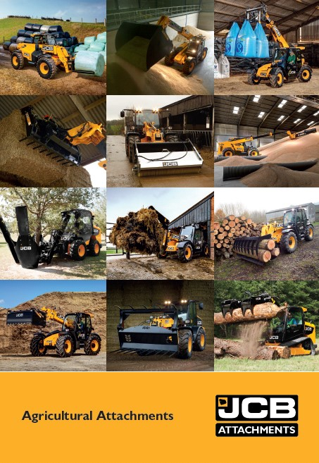 Cover Image of 1009 - JCB Attachments - Ag Show Brochure A4 FINAL