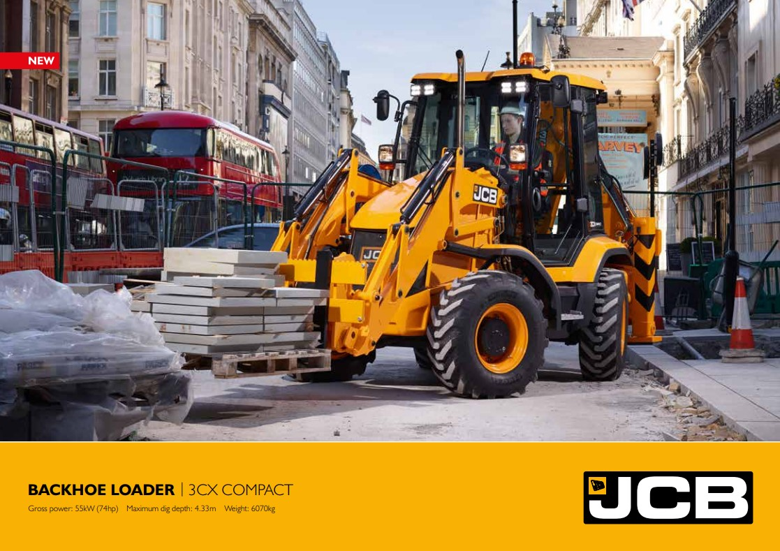 Cover Image of 3cx-compact-backhoe-loader-brochure