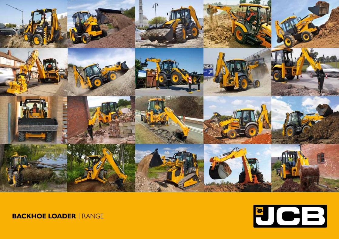 Cover Image of Backhoe Loader brochure