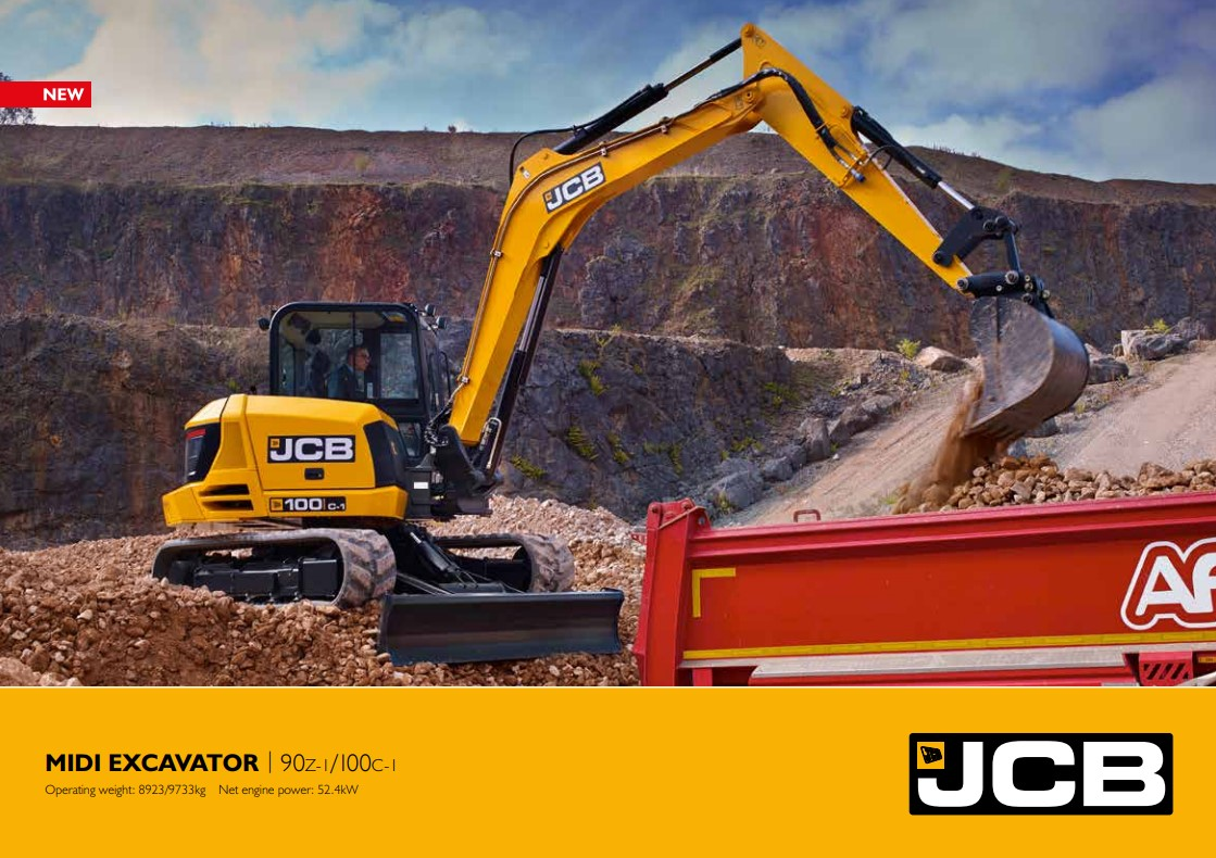 Cover Image of midi-excavator-brochure