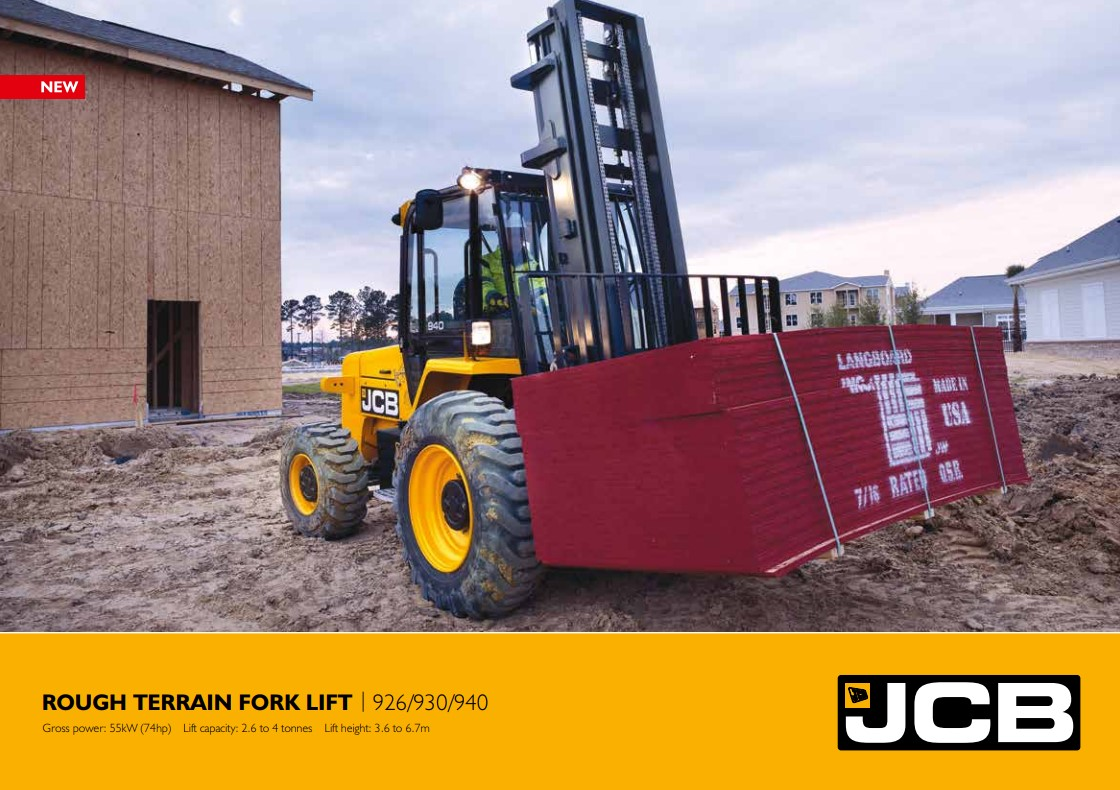 Cover Image of ROUGH TERRAIN FORK LIFT