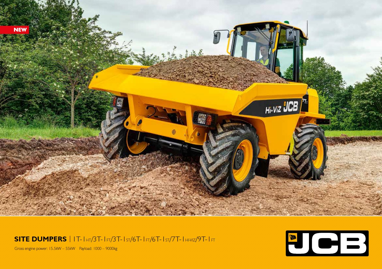 Cover Image of Site Dumper Brochure