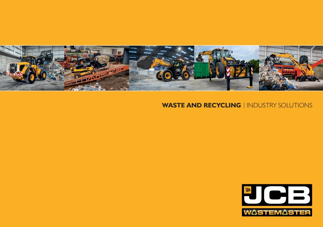 Cover Image of JCB Wastemaster Brochure 2017