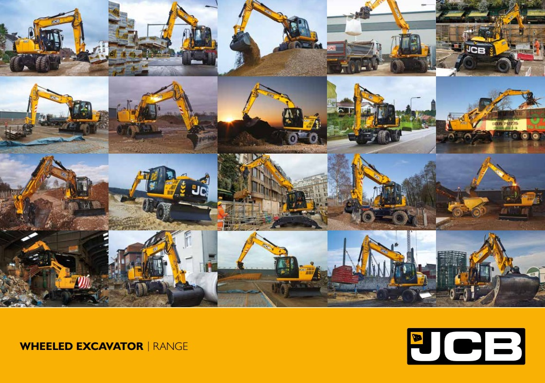 Cover Image of WHEELED EXCAVATOR
