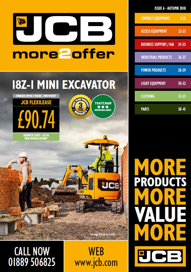 Cover Image of 1200 - JCB Marketing - more2offer Catalogue Issue 6 INTERACTIVE