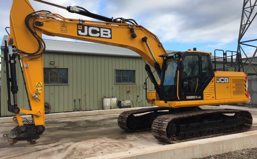 JS220X ex demo machine for sale
