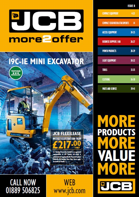 Cover Image of 1616 - JCB Marketing - more2offer Catalogue Issue 8