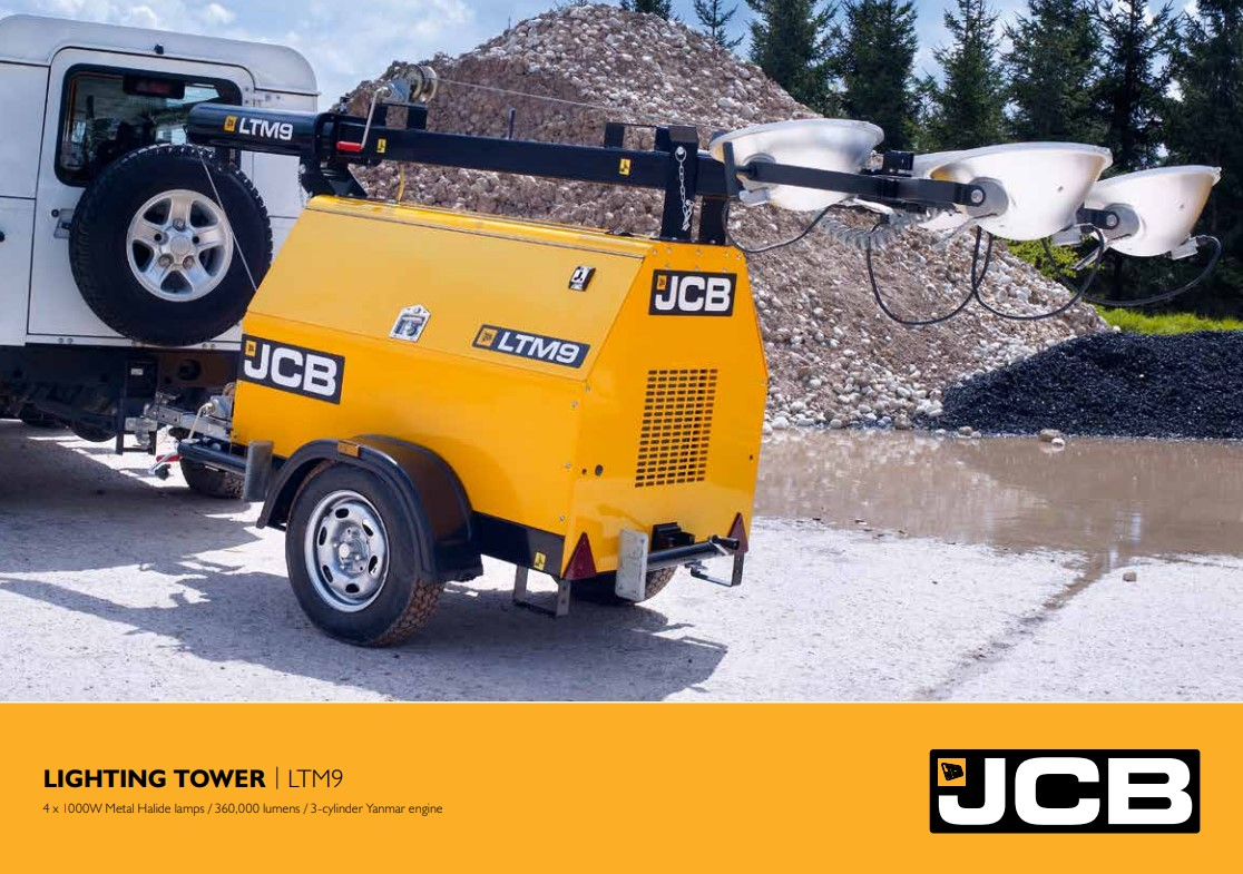 Cover Image of JCB LTM9 Brochure