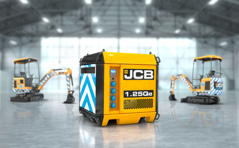 JCB innovation leads the way in clean electric charging